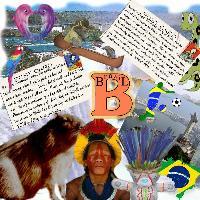 B for Brazil