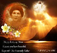 Happy Birthday Mom 2012