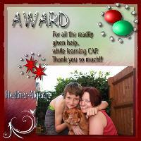 Award For Algera