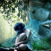 Butterfly Girl for Challenge