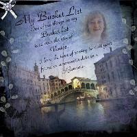 My bucket list Venice