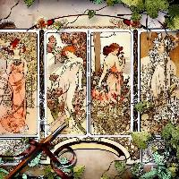 Art by Alphons Mucha...2