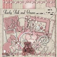 Peachy Pink & Cream