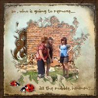 Remove the rubble....:-(