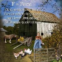 F = Farm (Farm theme)