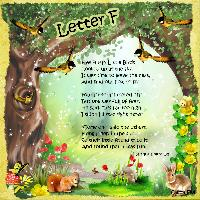 My ABC Book of Verses & Rhymes - Letter F