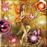 Spectacular Fairy & Orbs
