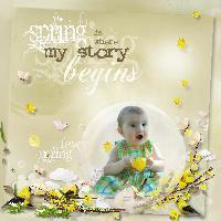 Baby Leniyah Spring Fever