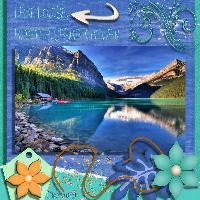 Lake Louise & Mountain