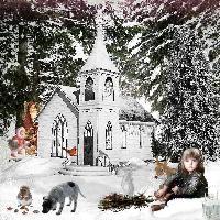 Little Match Girl in a Winter Wonderland