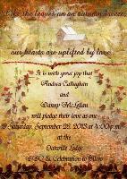 Andrea & Danny Wedding Invitation 01