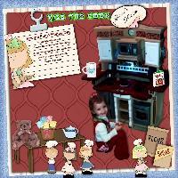 My Little Chef, Gracie