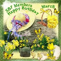 March Birthday for SBF Members