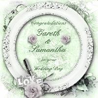 Congratulations Gareth & Samantha 01