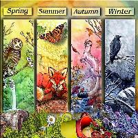 The Four Season..Spring Summer Autumn Winter