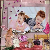 Playful Angelic Children