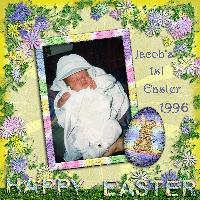 Jacob's First Easter