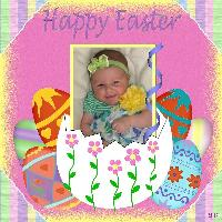 Reagan's 1st Easter