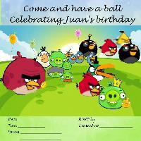 Juan's birthday invite