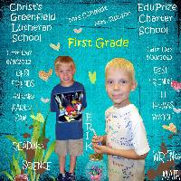 All done - first grade