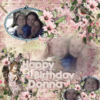 Happy birthday Donna 2