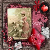 Victorian Lady in Love