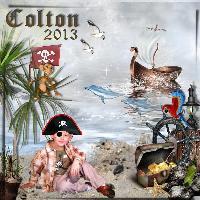 Colton the Pirate