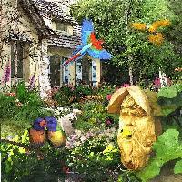 Fairy Tale Cottage Garden