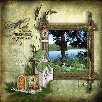 Birdhouse serenity