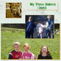 my three babies