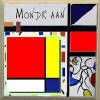 altered Mondriaan