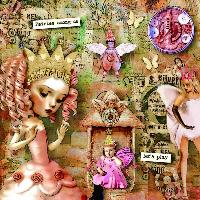 Altered Art..Whimsical