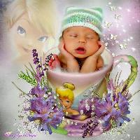 Tinkerbell teacup baby