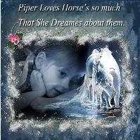 Piper's Love Of Horse's