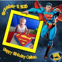 Happy 5th Birthday Colton