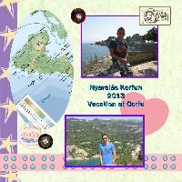 Vacation at Corfu island