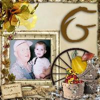 G for Grandpa & Grandson