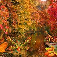 Autumn Fantasy Scene