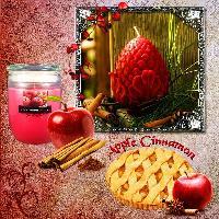 Apple Cinnamon Scent Candle...