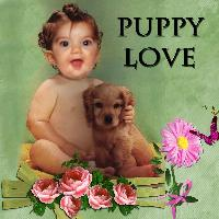 Scrap A Word Puppy Love