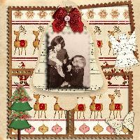 Vintage Christmas pages