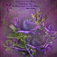 Purple Passion Rose~