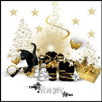 BLACK & GOLD CHRISTMAS
