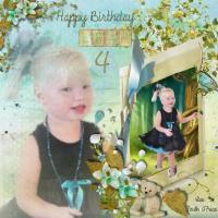 Leah Jade turns 4