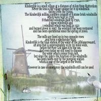 About the windmills of Kinderdijk