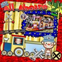 All Aboard the Monkey Train!