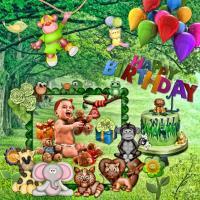 Safari Birthday Boy!