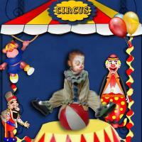 my colourful little clown