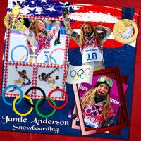 Jamie Anderson: Gold Medal~