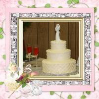 My Nieces Wedding Cake